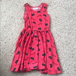 Dot dot smile 3/4 dress